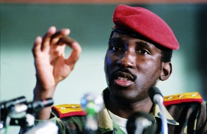 Thomas Sankara speaking